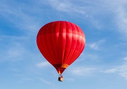 Balloon seen from the Bristol Balloon Fiesta